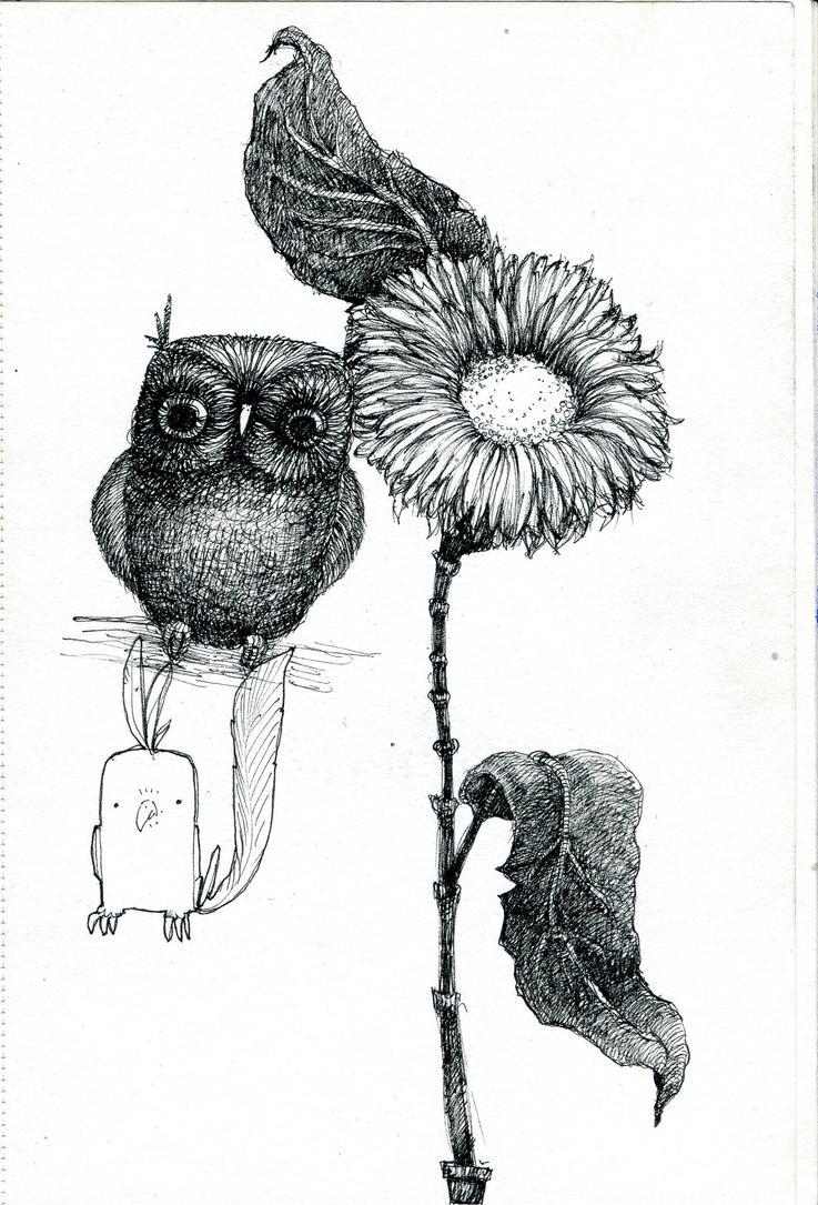 Random doodle by MarthaDeAth