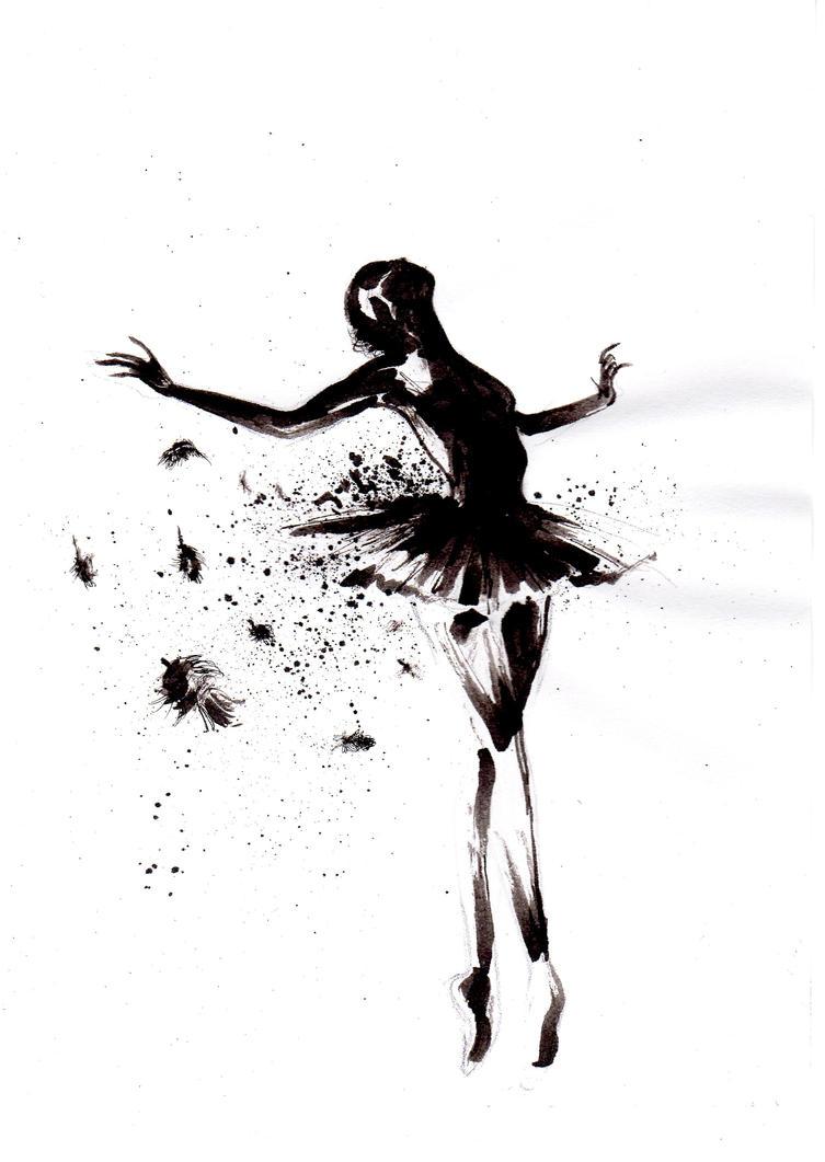 Black Swan Art | Dark Brown Hairstyles