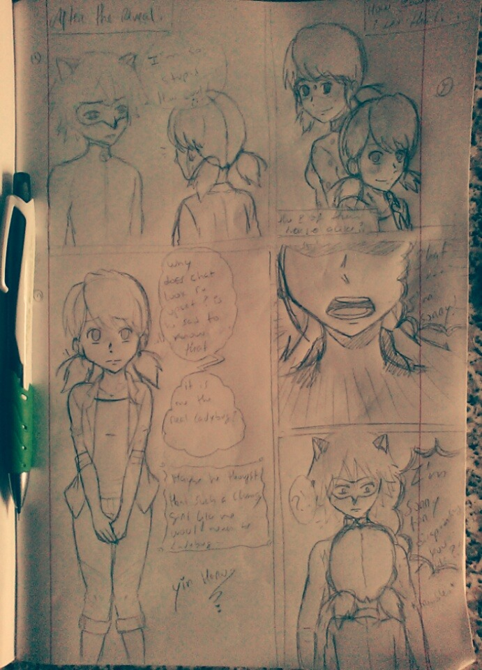Marichat comic page 1 pv by YinHaru95
