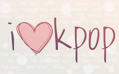 i heart kpop by XxDark-ValentinexX
