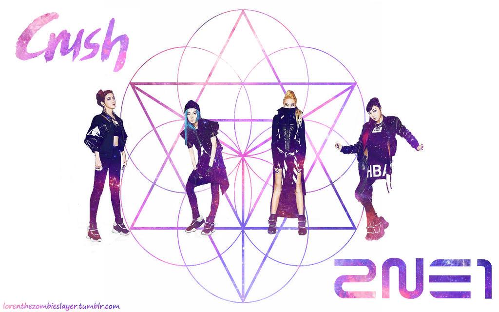 2NE1 Crush by XxDark-ValentinexX