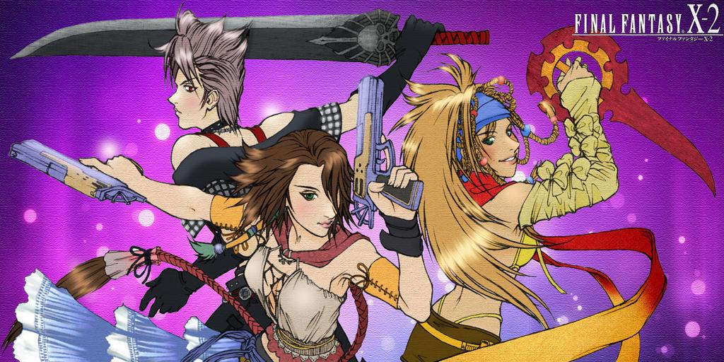 Final Fantasy X-2 - color by XxDark-ValentinexX