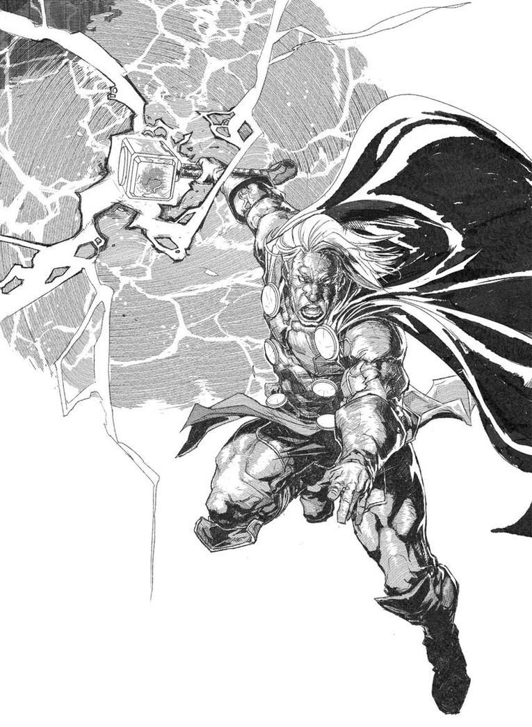 Thor: God of Thunder by am-bearre