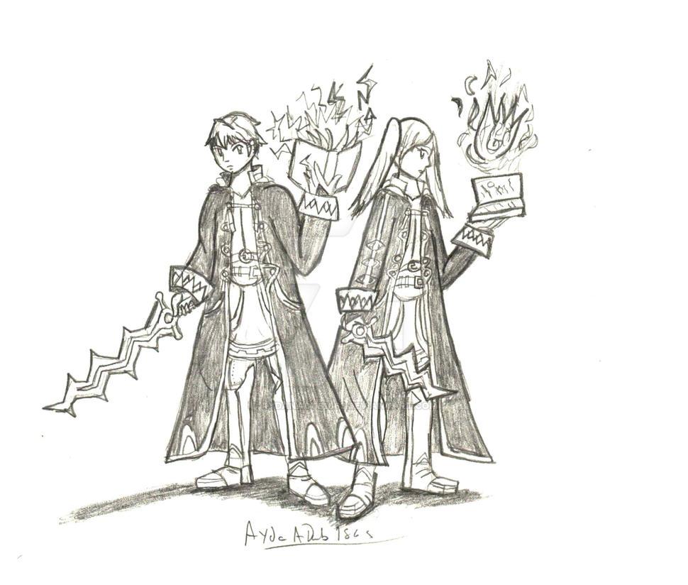 Robin (Male and Female) by AydanADub1863