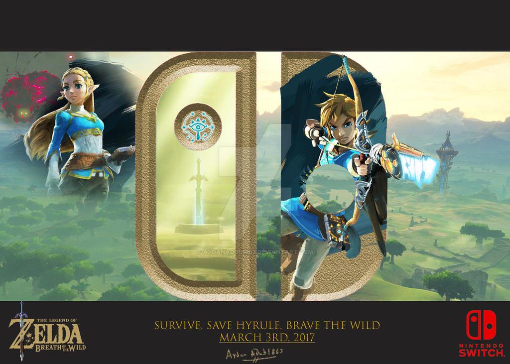 Zelda-BoTW-Mock-up-Ad-v2 by AydanADub1863