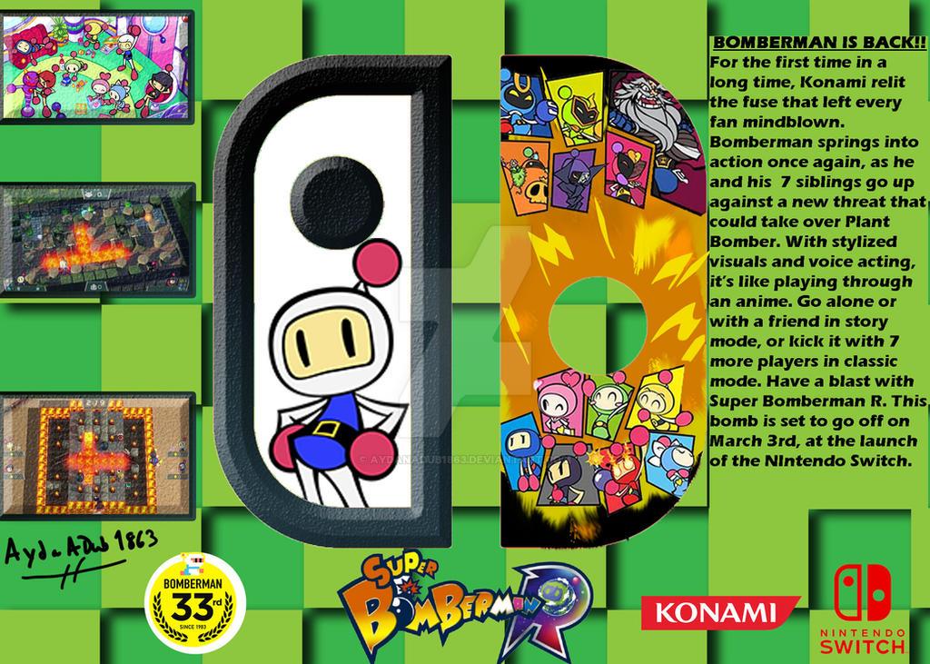 Super-Bomberman-R-Mock-up-ad by AydanADub1863