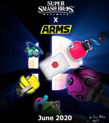 Smash Ultimate X ARMS teaser