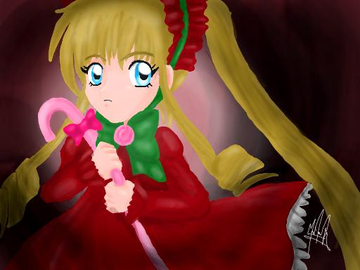 Rozen Maiden - Shinku by SailorBomber