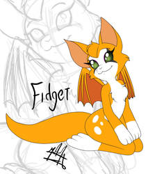 Fidget - dust an elysian tail by SailorBomber