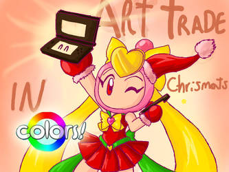 ArtTrade Christmas in COLORS (CLOSE) by SailorBomber