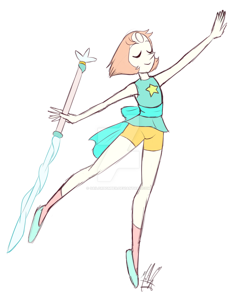 ENGLISH I love Pearl, it's been a while since I drew her, this is the third drawing of her, and this drawing is my favorite -------------------------- SPANISH Me encanta Perla, hace tiempo que yo n...