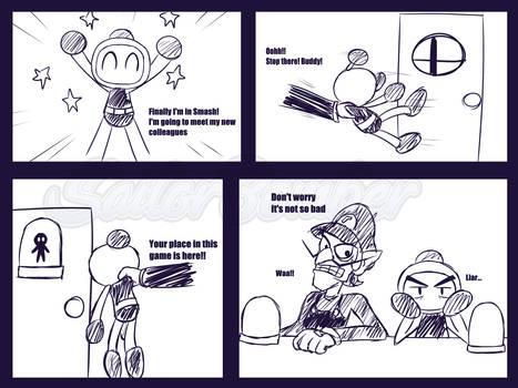 Bomberman in Smash