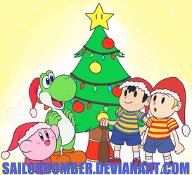 AT Christmas (Late) - Nintendo XMast by SailorBomber