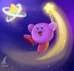 Kirby 27 anniversary (SPEEDPAINT)