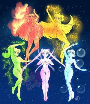 Sailor Senshi Transformation - Sailorwave