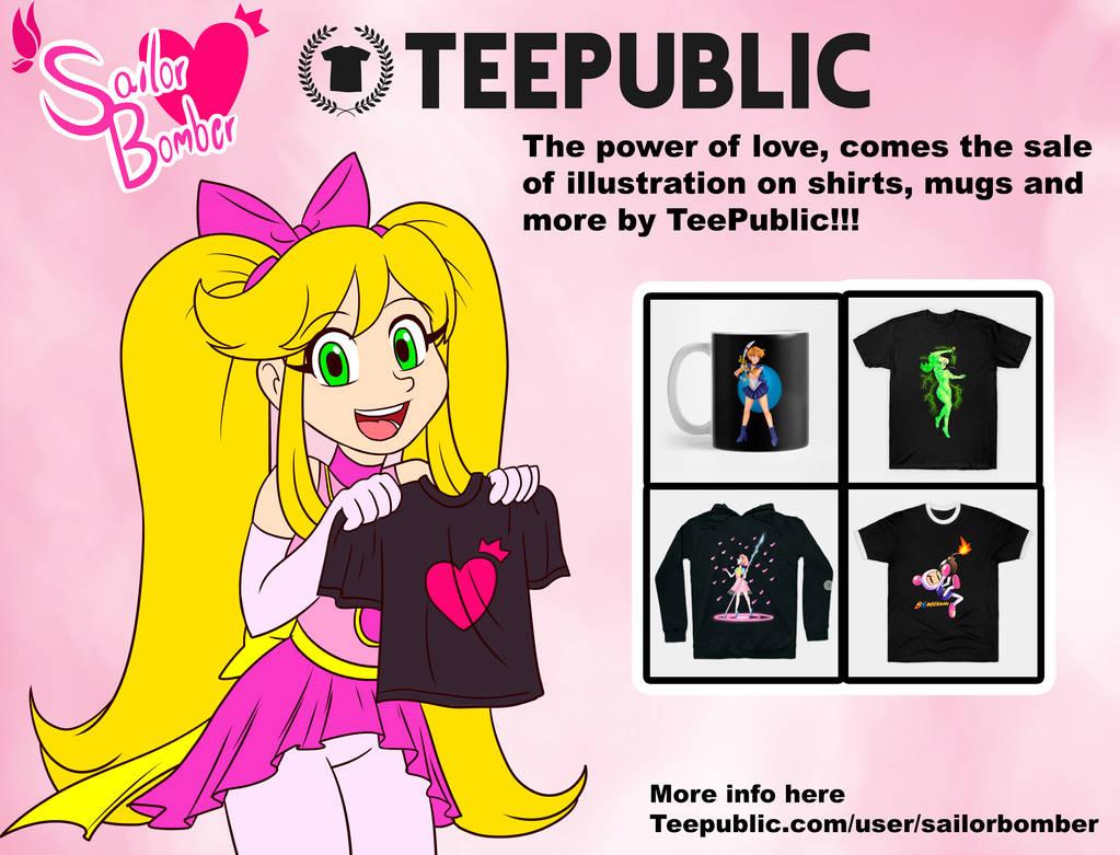 SailorBomber in TeePublic