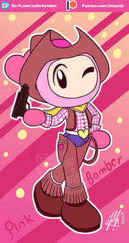 Cowgirl Pinkbomber