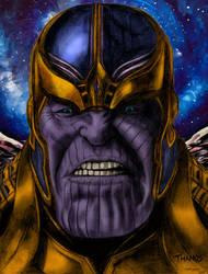 Thanos Bathe In Blood