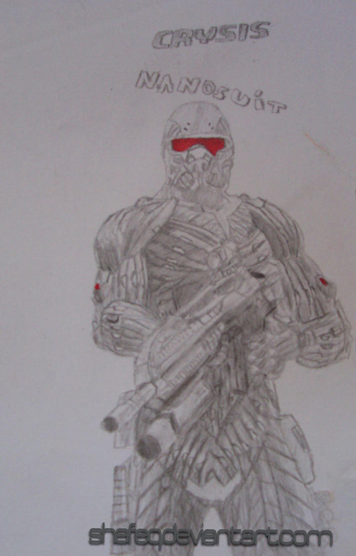 Crysis Nanosuit Draw by