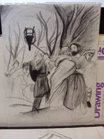 Betrayal of Jesus by TorinZece