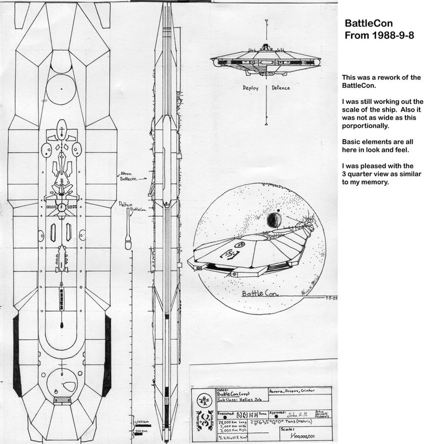 Early BattleCon design 1988 by TorinZece