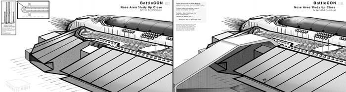 BattleCon  :::: Nose close up by TorinZece
