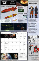 B: JAN  2015: Space Battleship Yamato 2199 by TorinZece