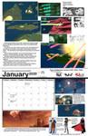 2020 calendar! January