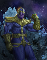 Thanos Sketch by jdtmart
