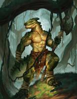Lizardfolk Cover by jdtmart