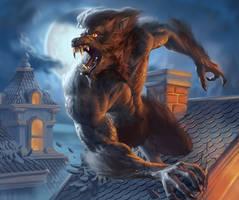 Werewolf by jdtmart