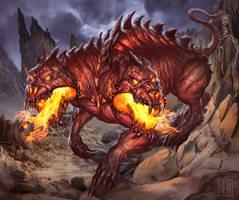 Hound of Draka by jdtmart