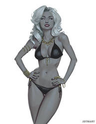 Lady Death by jdtmart