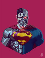 Cyborg Superman by jdtmart