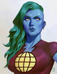 Captain Planet by jdtmart