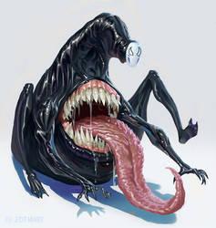 Venom + No Face = V Face? by jdtmart