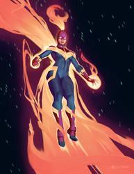 Captain Marvel by jdtmart