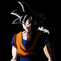Goku (From Birth Of A New God Animaton) by OnlyNura