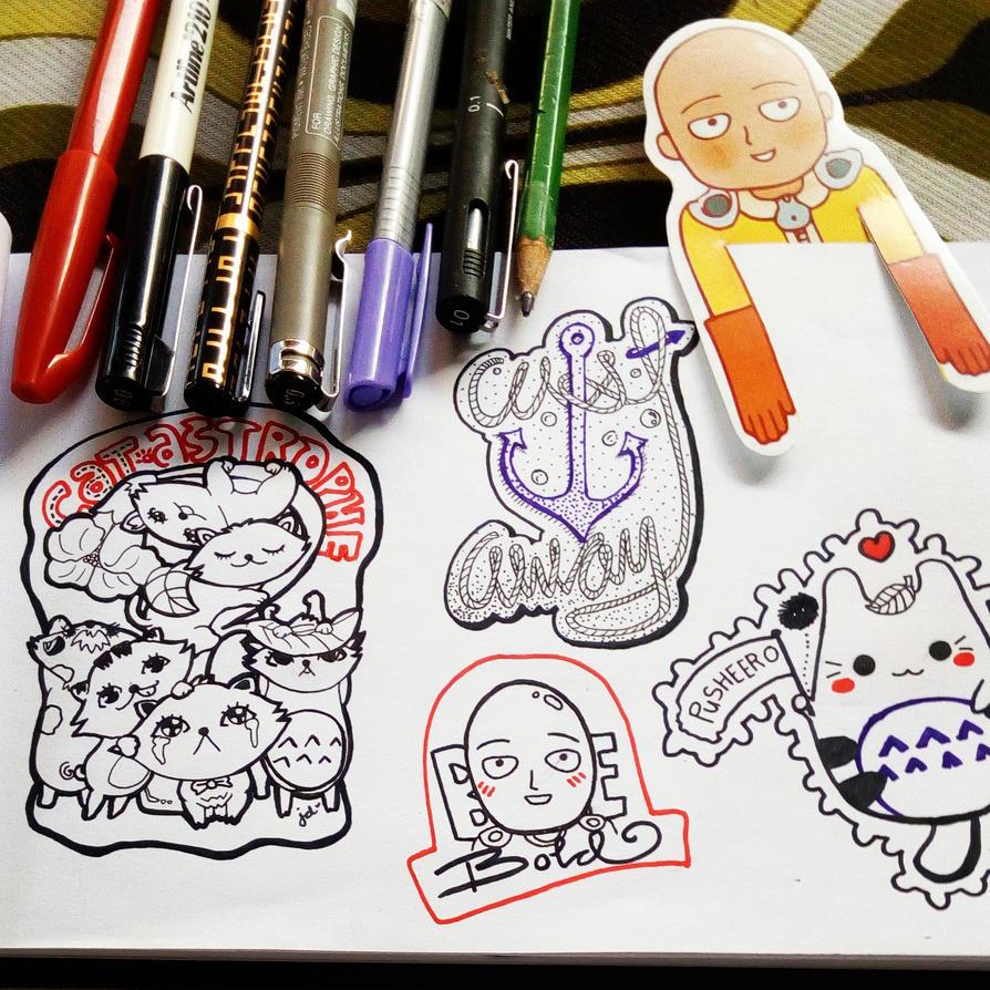 Doodles by JDsmiles