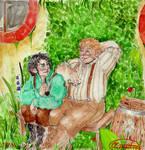 frodo and sam by Cliopadra