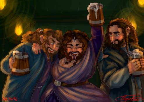 Dis,Frerin and Thorin for Bianjula