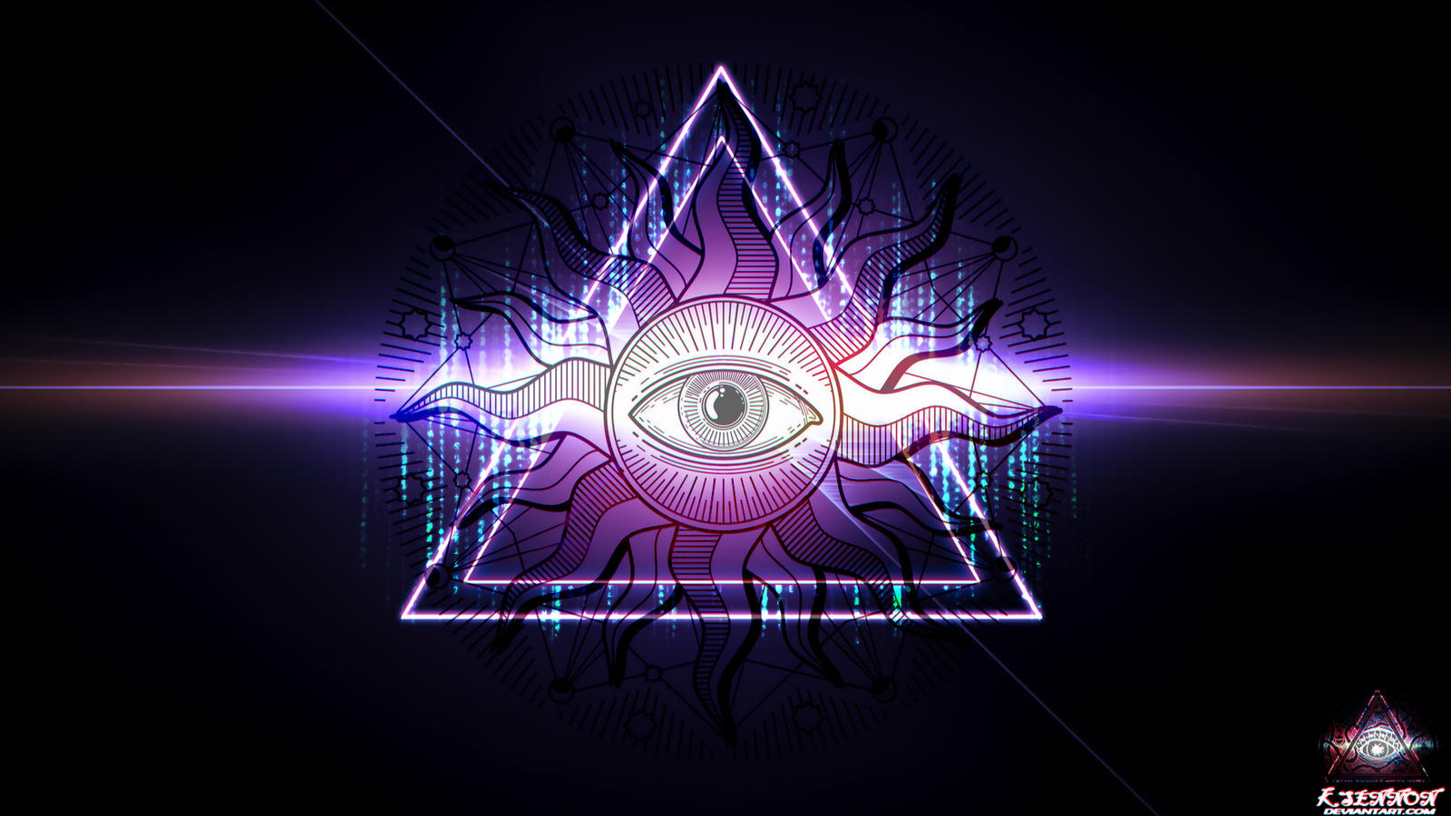 Illuminati Wallpaper 108 [1080p] by