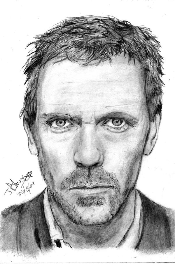 Hugh Laurie. by RainbowNintendo