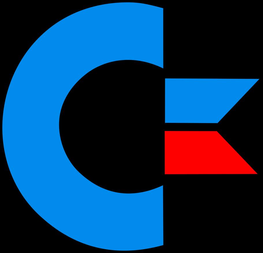 commodore 64 logo vectorized by lolman4408 on deviantart