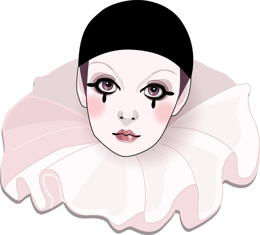 Pierrot by deerhead on deviantart - Dessin de pierrot ...