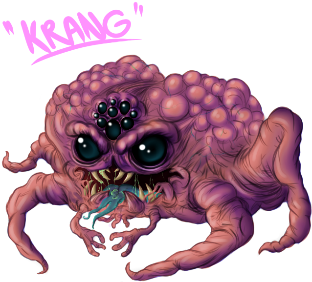Krang Redesigned by PowderAkaCaseyJones