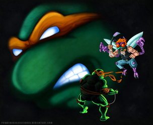 TMNT Tournament Fighters: The Lost Game by PowderAkaCaseyJones