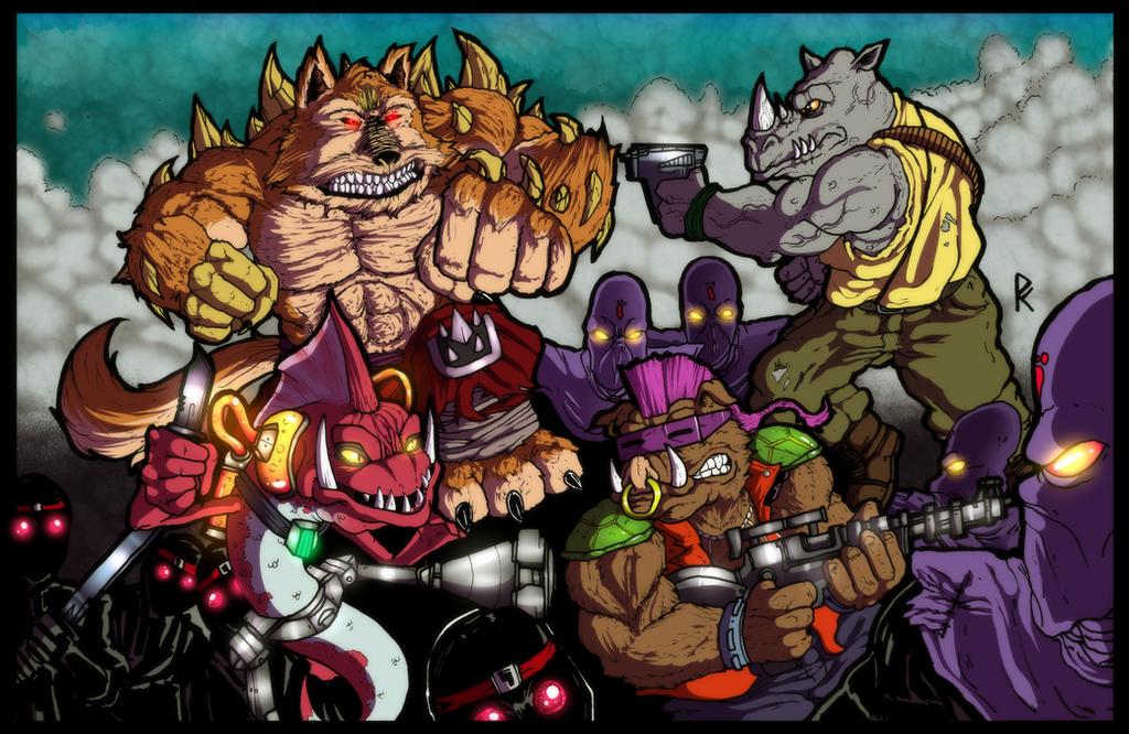 Shredder's Henchmen by PowderAkaCaseyJones