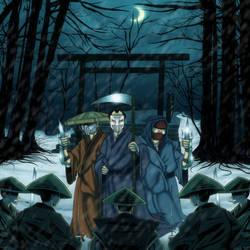 Grindhouse Gang- 3 Assassins Cover Art