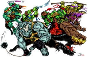 Mutant Marauders by PowderAkaCaseyJones